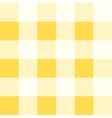 Yellow White Diamond Chessboard Background vector image