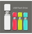 universal flash drive vector image