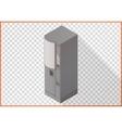 Coffee maker vending apparatus isometric vector image
