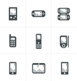 Phone Game icons vector image