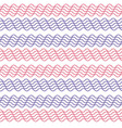 seamless wavy stripes pattern vector image