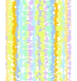 Abstract pattern of colorful vertical stripes vector image