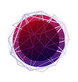 abstract geometric background wireframe mesh vector image