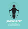 Jumping Rope vector image
