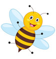 of cartoon bee vector image