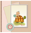 funny baby shower card vector image