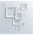 Square background Eps10 vector image