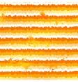 Orange paint splash seamless pattern vector image vector image