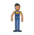 carpenter avatar full body vector image