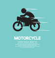 Motorcycle vector image