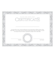 Vintage Certificate Template diplomas currency vector image vector image