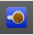 coffe icon Eps10 vector image