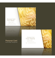 design elements of the business business cards vector image