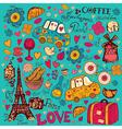 Paris Background vector image