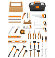 set tools vector image
