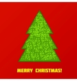 Green Cristmas tree vector image