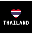 I love Thailand15 vector image