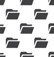 folder seamless pattern vector image