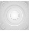 Grey abstract circles technology background vector image