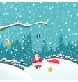 2016 10 Santa2 vs vector image vector image
