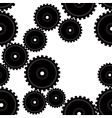 gears repeat vector image