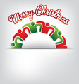 Merry Christmas Family vector image vector image