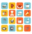 Cooking Icons Flat vector image