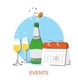 Events vector image