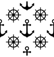 Nautical seamless pattern Cute design vector image