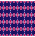 Oval and triangle geometric seamless pattern 2106 vector image