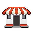 Store or shop icon image vector image
