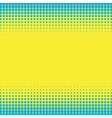 Halftone Pop Art Background vector image vector image