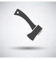 Camping axe icon vector image