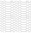 Snake skin texture Seamless pattern black and vector image