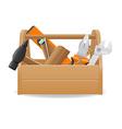 tool box 04 vector image