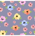 Seamless floral background Isolated beautiful vector image