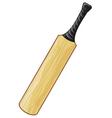 cricket bat vector image