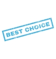Best Choice Rubber Stamp vector image