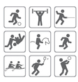 set of sport icons vector image vector image