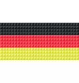 German national flag colors vector image