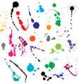 Ink splatter vector image