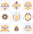Beer Festival Octoberfest celebrations Set of vector image