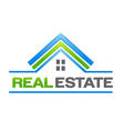 Real Estate House Logo vector image vector image