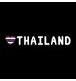 I love Thailand16 vector image