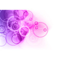 purple abstract vector image