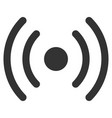 wi-fi source flat icon vector image