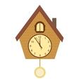 Wood Cuckoo-clock vector image