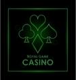 Casino design Game icon Colorfull vector image
