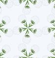 Pattern of dandelions vector image