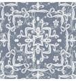 seamless pattern imitating lace vector image